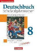 Cover-Bild zu Kober, Winfried: Deutschbuch Gymnasium, Bayern, 8. Jahrgangsstufe, Schulaufgabentrainer mit Lösungen
