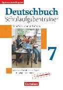 Cover-Bild zu Kober, Winfried: Deutschbuch Gymnasium, Bayern, 7. Jahrgangsstufe, Schulaufgabentrainer mit Lösungen