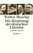 Cover-Bild zu Muschg, Walter: Die Zerstörung der deutschen Literatur