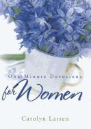 Cover-Bild zu Larsen, Carolyn: One-Minute Devotions for Women