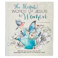 Cover-Bild zu Larsen, Carolyn: Illustrated Words Jesus for Women Devotional Book
