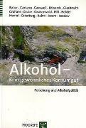 Cover-Bild zu Babor, Thomas: Alkohol - Kein gewöhnliches Konsumgut