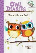 Cover-Bild zu Elliott, Rebecca: Eva and the New Owl: A Branches Book (Owl Diaries #4) (Library Edition), 4