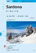 Cover-Bild zu Sardona. 1:50'000