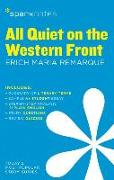 Cover-Bild zu SparkNotes: All Quiet on the Western Front SparkNotes Literature Guide