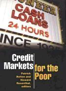 Cover-Bild zu Bolton, Patrick (Hrsg.): Credit Markets for the Poor