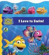 Cover-Bild zu The Jim Henson Company: Splash and Bubbles: I Love to Swim! tabbed board book