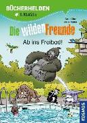 Cover-Bild zu Marx, André: Die wilden Freunde, Bücherhelden 1. Klasse, Ab ins Freibad!