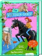 Cover-Bild zu Scheller, Anne: Die Hufeisen-Ranch - SOS im Reitercamp