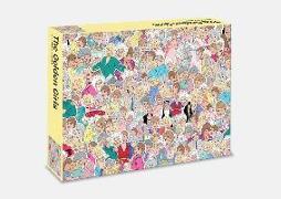 Cover-Bild zu de Sousa, Chantel (Illustr.): The Golden Girls: 500 piece jigsaw puzzle