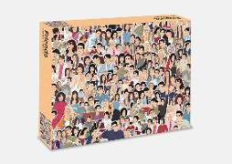 Cover-Bild zu de Sousa, Chantel (Illustr.): Friends: 500 piece jigsaw puzzle
