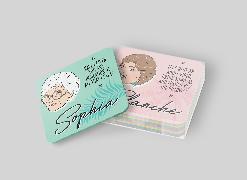 Cover-Bild zu de Sousa, Chantel (Illustr.): The Golden Girls Drink Coasters