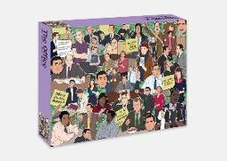 Cover-Bild zu de Sousa, Chantel (Illustr.): The Office: 500 piece jigsaw puzzle