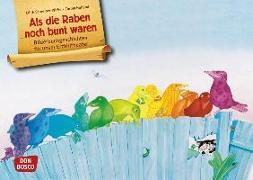 Cover-Bild zu Schreiber-Wicke, Edith: Als die Raben noch bunt waren. Kamishibai Bildkartenset