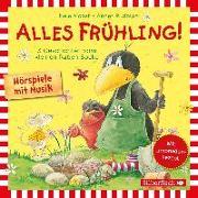 Cover-Bild zu Moost , Nele: Alles Frühling!: Alles Freunde!, Alles wächst!, Alles gefärbt!