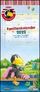 Cover-Bild zu Moost, Nele: Der kleine Rabe Socke Familienkalender 2022 - Wandkalender - Familienplaner mit 5 Spalten - Format 22 x 49,5 cm