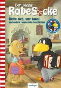 Cover-Bild zu Moost, Nele: Der kleine Rabe Socke: Rette sich, wer kann! und andere rabenstarke Geschichten