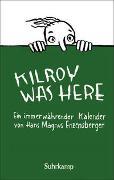 Cover-Bild zu Enzensberger, Hans Magnus: Kilroy was here