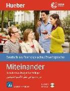 Cover-Bild zu Miteinander. Selbstlernkurs Deutsch für Anfänger. Arabische Ausgabe. Mit 1 MP3-CD von Aufderstraße, Hartmut
