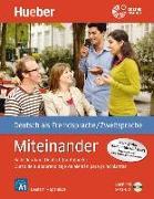 Cover-Bild zu Miteinander. Curso de autoaprendizaje de alemán para principiantes. Spanische Ausgabe - Buch mit 1 Audio-CD in MP3 Format von Aufderstraße, Hartmut