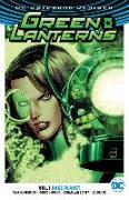 Cover-Bild zu Humphries, Sam: Green Lanterns Vol. 1: Rage Planet (Rebirth)