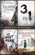 Cover-Bild zu Goldammer, Frank: Mörderisches Dresden (3in1-Bundle) (eBook)