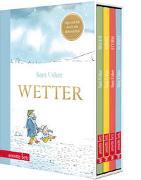Cover-Bild zu Usher, Sam: Wetter - Vier Bilderbücher in einem hochwertigen Schuber
