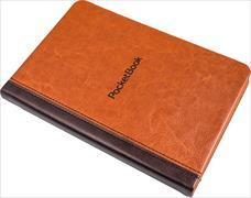 Cover-Bild zu Cover Pocketbook Touch Lux 4/Touch HD 3/Basic Lux 2 Book Series braun