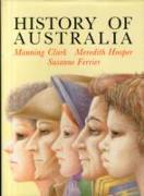 Cover-Bild zu Clark, Manning: History of Australia