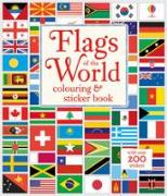 Cover-Bild zu Meredith, Susan: Flags of the World Colouring & Sticker Book