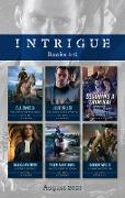 Cover-Bild zu Miller, Julie: Intrigue Box Set Aug 2021/Cold Case at Cardwell Ranch/A Stranger on Her Doorstep/Decoding a Criminal/A Judge's Secrets/Searching for Evidence/A (eBook)