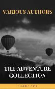 Cover-Bild zu Swift, Jonathan: The Adventure Collection: Treasure Island, The Jungle Book, Gulliver's Travels, White Fang (eBook)