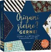 Cover-Bild zu Mielkau, Ina: Origamisterne? Gerne! - Weihnachtliches Bastelset zum Sofort-Losfalten