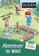 Cover-Bild zu Hagemann, Antje (Illustr.): Mein Spiel- und Lernblock 1 - Abenteuer im Wald