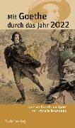 Cover-Bild zu Klauß, Jochen: Mit Goethe durch das Jahr 2022