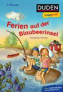 Cover-Bild zu Schulze, Hanneliese: Duden Leseprofi - Ferien auf der Blaubeerinsel, 1. Klasse