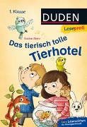 Cover-Bild zu Stehr, Sabine: Duden Leseprofi - Das tierisch tolle Tierhotel, 1. Klasse