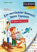 Cover-Bild zu Fischer-Hunold, Alexandra: Duden Leseprofi - Mit Bildern lesen lernen: Ein verrückter Besuch beim Tierarzt, Erstes Lesen