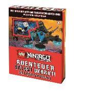 Cover-Bild zu Hugo, Simon: LEGO® NINJAGO® Abenteuer selbst gebaut! Die größten Duelle