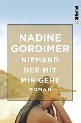 Cover-Bild zu Gordimer, Nadine: Niemand der mit mir geht