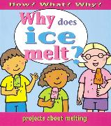 Cover-Bild zu Ross, Stewart: How What Why? Why Does Ice Melt?