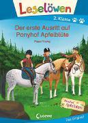 Cover-Bild zu Young, Pippa: Leselöwen 2. Klasse - Der erste Ausritt auf Ponyhof Apfelblüte