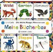 Cover-Bild zu Carle, Eric: Die kleine Raupe Nimmersatt - Meine Bücherbox