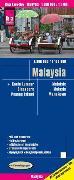 Cover-Bild zu Peter Rump, Reise Know-How Verlag: Reise Know-How Landkarte Malaysia (West 1:800.000 / Ost 1:1.100.000). 1:800'000