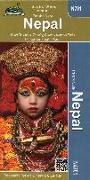 Cover-Bild zu Nepal Trekking Map 1 : 950 000
