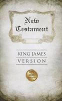 Cover-Bild zu American Bible Society (Hrsg.): New Testament-KJV