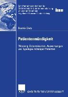 Cover-Bild zu Patientenmündigkeit von Dietz, Beatrix