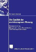 Cover-Bild zu Die Qualität der marktbezogenen Planung von Schenkel, Bernhard