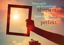 Cover-Bild zu Eschbacher Textkarte. Perfekter Moment