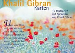 Cover-Bild zu Postkartenset Khalil Gibran von Gibran, Khalil